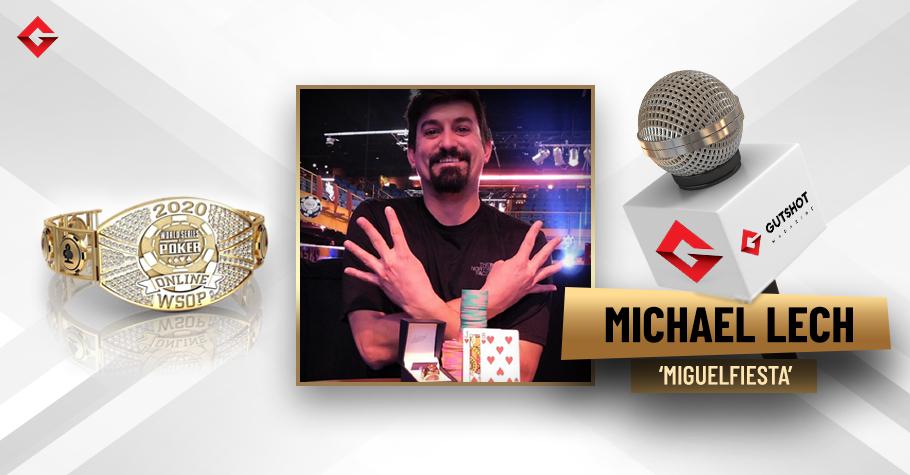 In conversation with WSOP 2020 Bracelet Winner Michael Lech