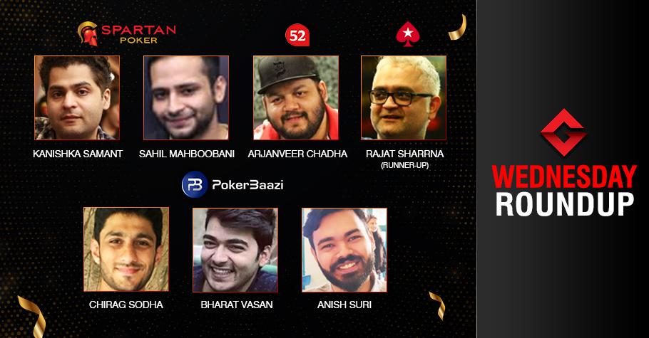 Wednesday Roundup: Suri, Sodha, Vasan conquer PMVS events!