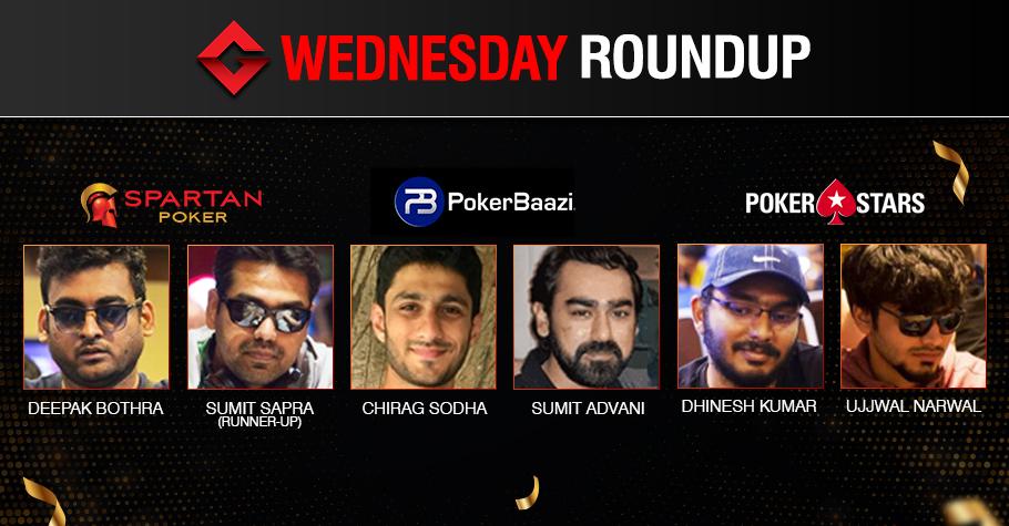 Wednesday Roundup: Bothra, Sodha, Advani, Kumar Earn Titles!