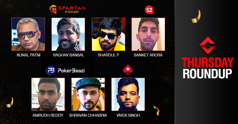 Thursday Roundup: Raghav Bansal triumphs IOPC High Roller!