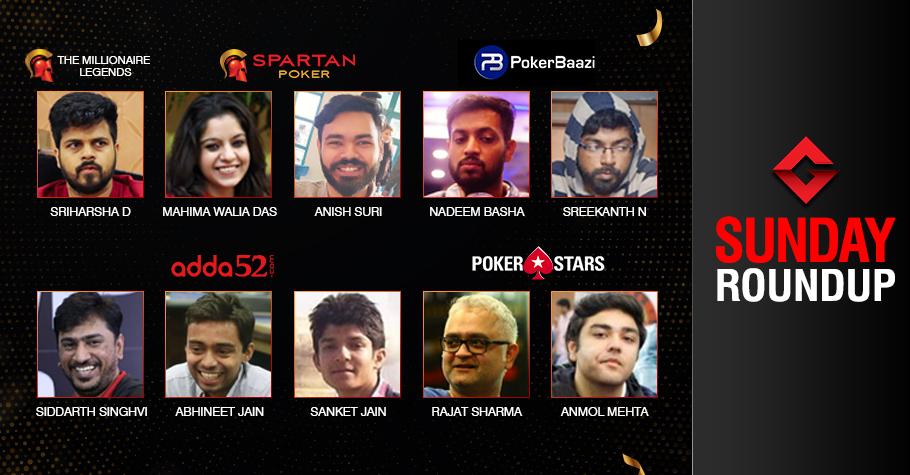 Sunday Roundup: Sriharsha, Singhvi dominate the day!