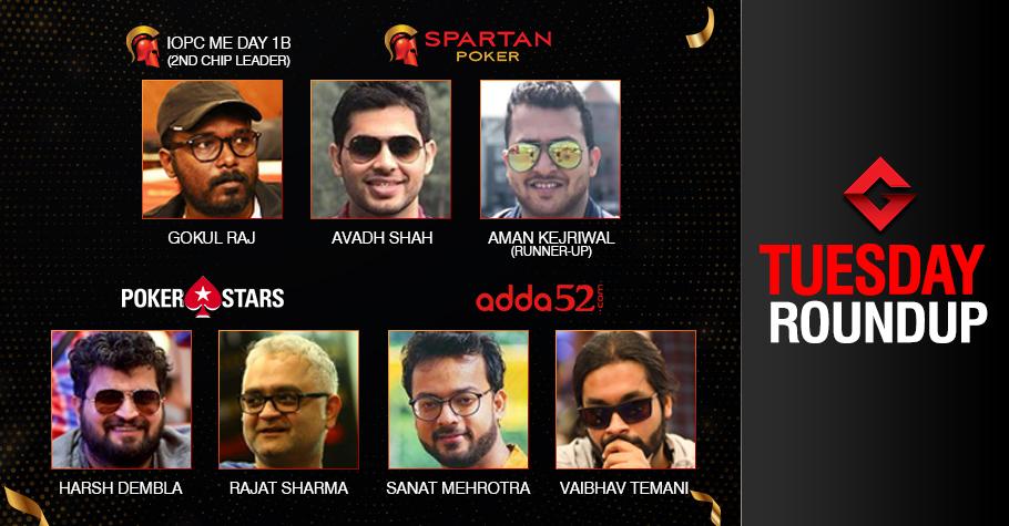 Tuesday Roundup: Shah, Mehrotra, Dembla, Sharma Win Big!
