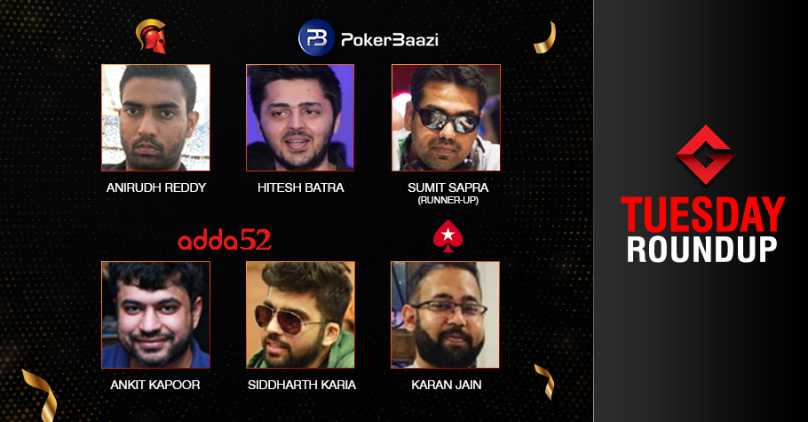 Tuesday Roundup: Reddy, Batra, Kapoor, Karia, Jain ship events!