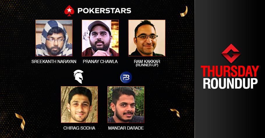 Thursday Roundup: Sodha, Darade, Narayan, Chawla Claim Big!