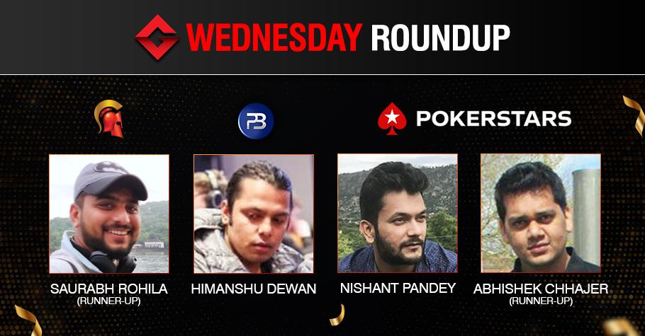 Wednesday Roundup: Himanshu Dewan, Nishant Pandey Win Big!