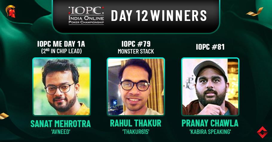 IOPC Day 12: Pranay Chawla, Rahul Thakur Claim Titles!
