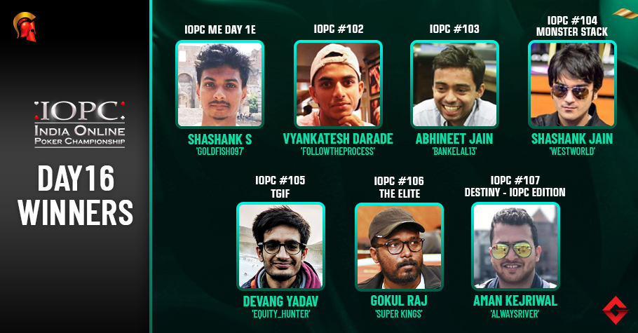 IOPC Day 16: Shashank Shekhar leads IOPC ME Day 1E