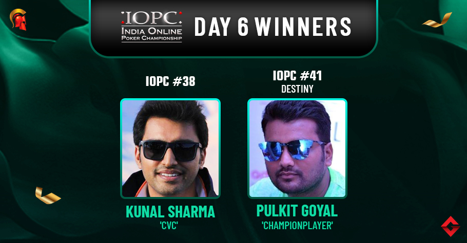 IOPC Day 6: Kunal Sharma, Pulkit Goyal Seize Titles!