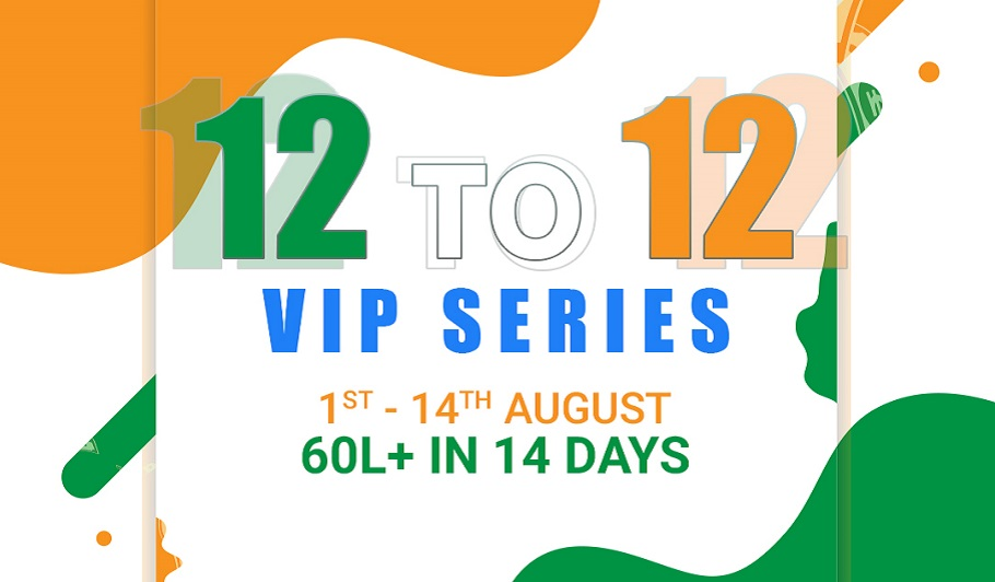 Calling Station's 12 to 12 VIP Series Assures INR 60+Lakhs!