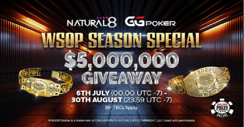 Everything you Need to Know to Grab a WSOP Bracelet on Natural8