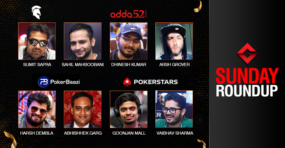 Sunday Roundup: Sapra, Garg, Kumar, Grover, Sharma Score Big!