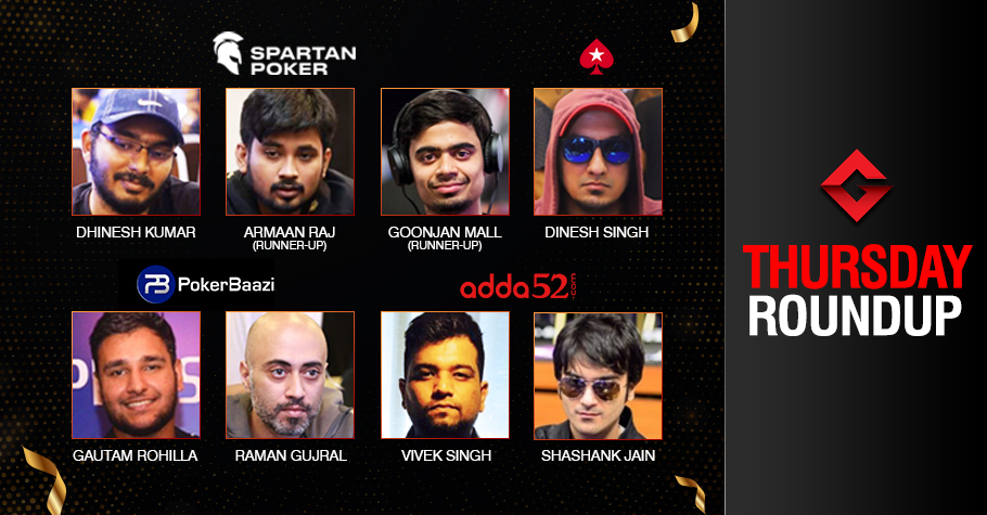 Thursday Roundup: Kumar, Gujral, Singh, Jain Win Big!