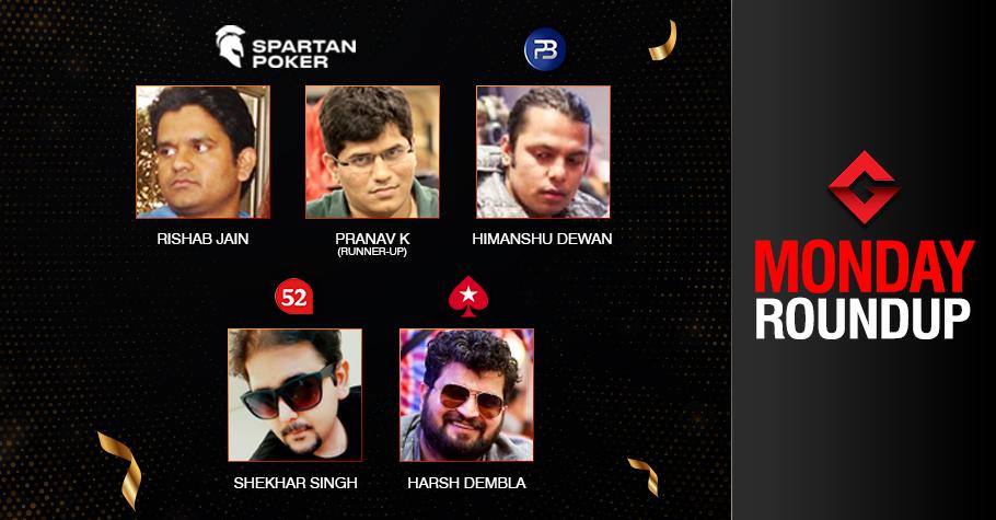 Monday Roundup: Jain, Singh, Dewan, Dembla Secure Titles!