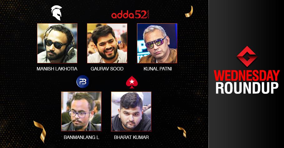 Wednesday Roundup: Lakhotia, Lyndem, Sood, Patni, Kumar Secure Titles!