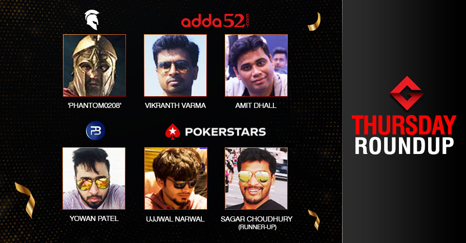 Thursday Roundup: Patel, Varma, Dhall, Narwal Score Big!