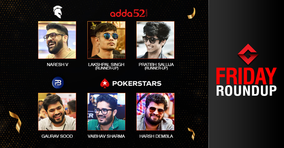 Friday Roundup: Veeravalli, Sood, Dembla, Sharma Claim Titles!