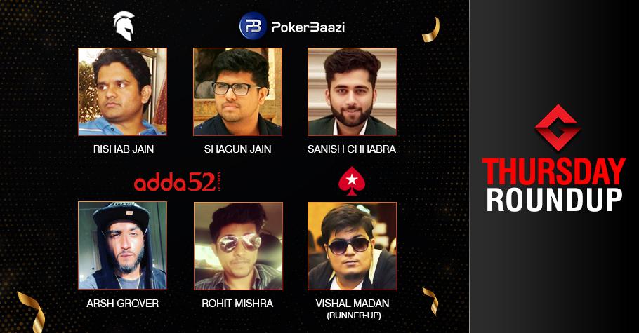 Thursday Roundup: Jain, Chhabra, Mishra Capture Titles!