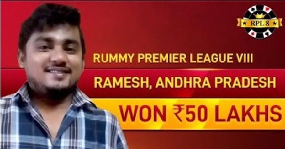 Doctor becomes biggest online rummy winner in India