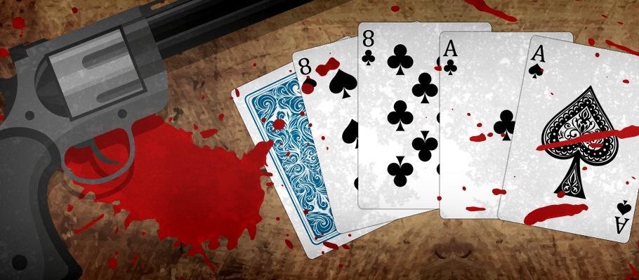 Gutshot Poker Term - Dead Man's Hand