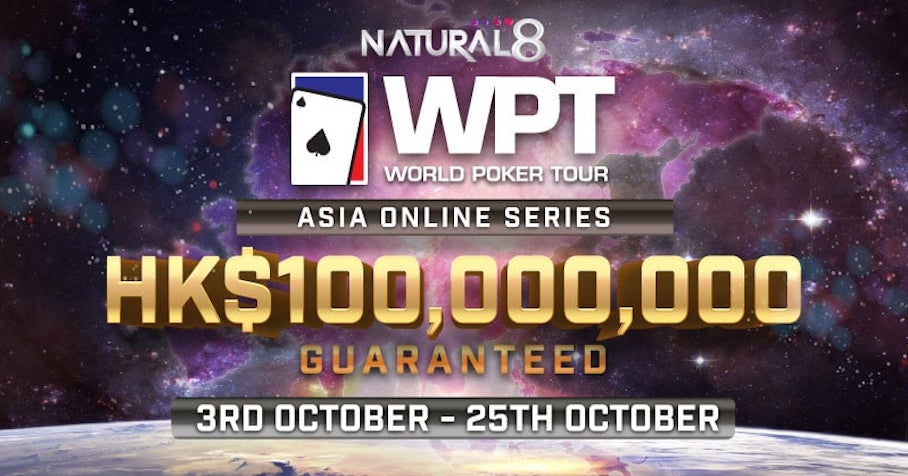 World Poker Tours Asia online partners with Natural8