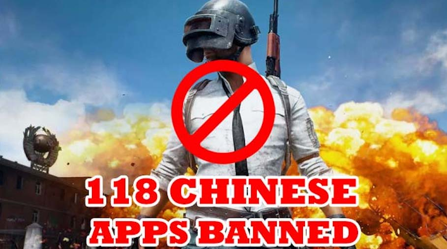 PUBG and other 117 mostly Chinese mobile applications banned