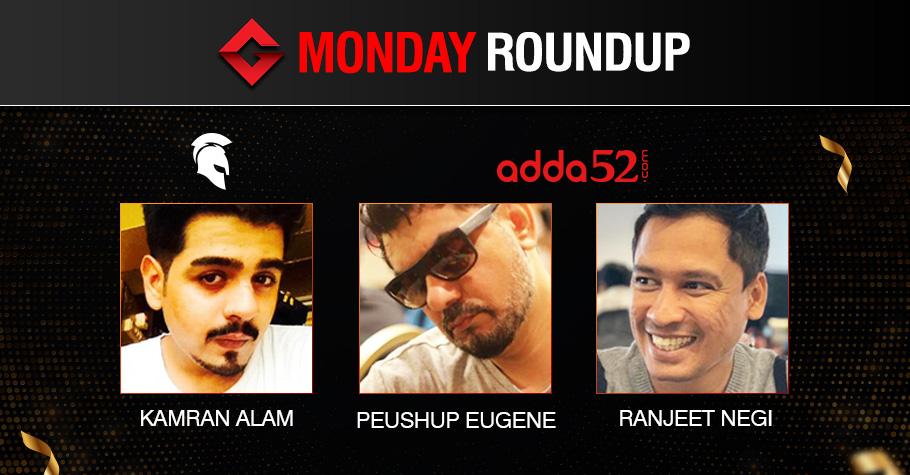 Monday Roundup: Alam, Eugene, Negi Grab Titles!