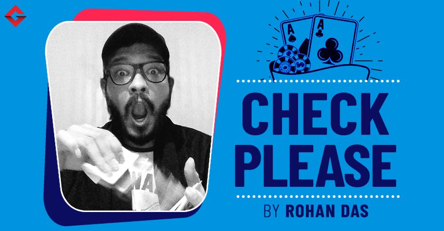 Check Please Rohan Das