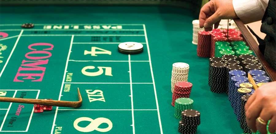 A dice game called 'Craps'