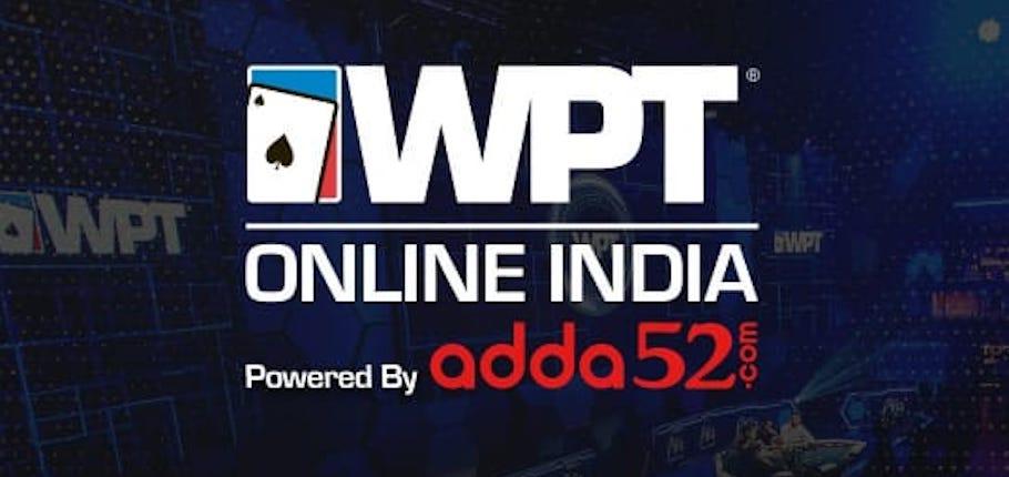 WPT India 2020 Goes Online, Between 5-22 Nov