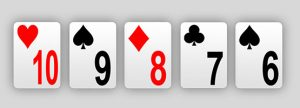 Gutshot Poker Dictionary - Open Ended Straight
