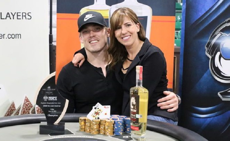 Poker playing couples who stay together, win together!