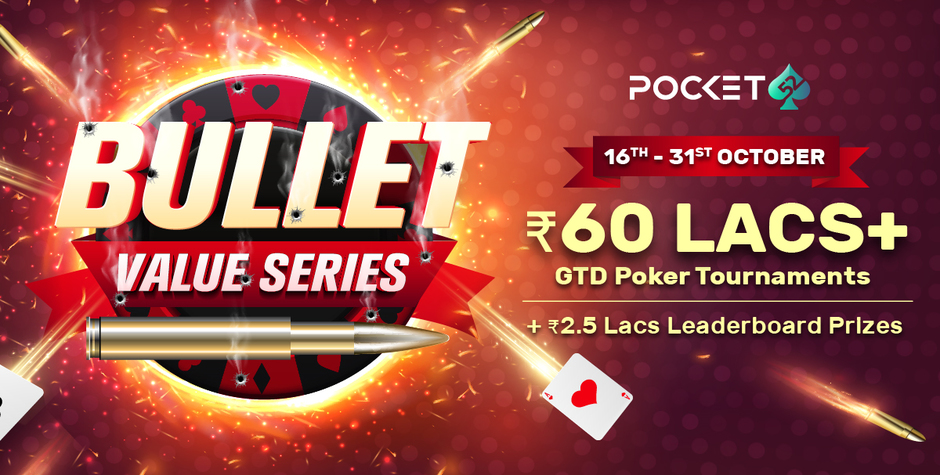 Pocket52 launches Bullet Value Series with 60L+ GTD