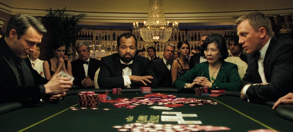 James Bond's Casino Royale and a game of Poker!