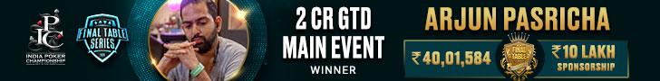 FTS Main Event Winner