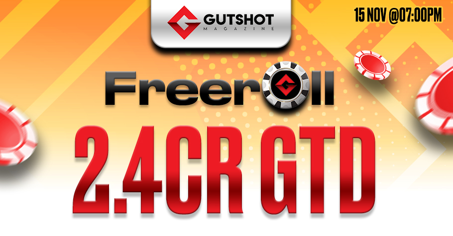 Don't miss Gutshot's Free and Exclusive FTS Freeroll