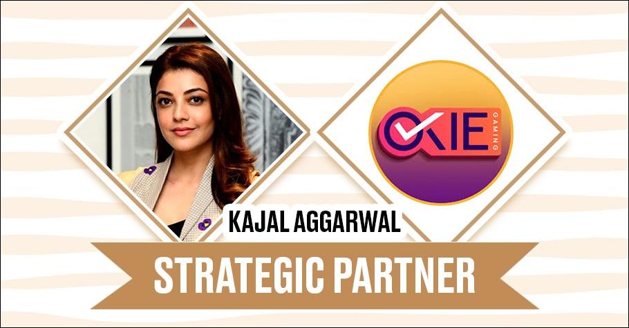 Actress Kajal Aggarwal as stake holder in Okie Gaming