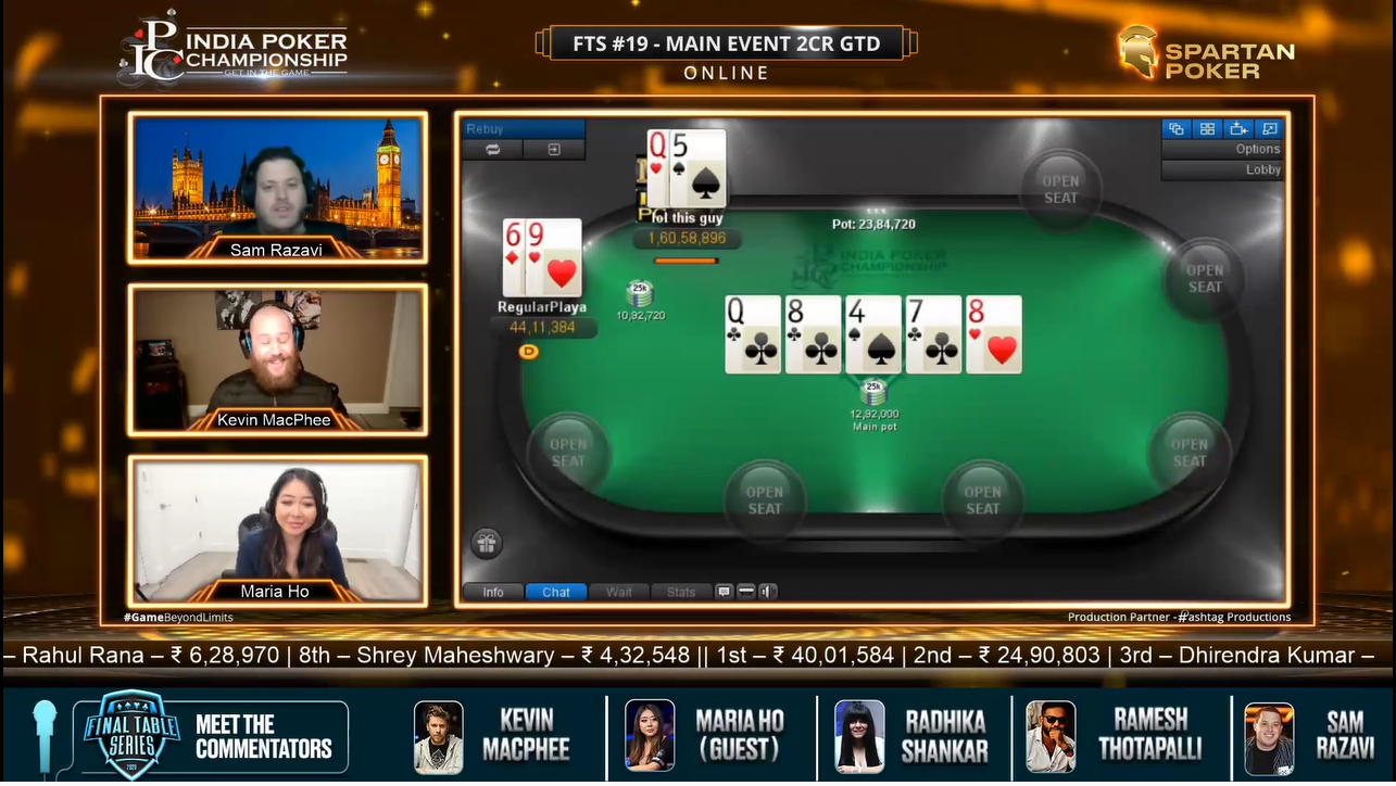 FTS #19 Main Event 2CR GTD – Final Table Livestream