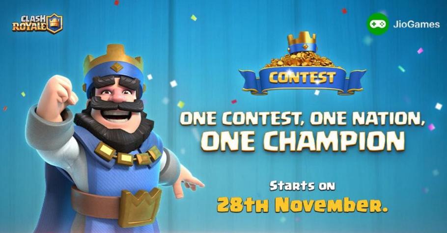 JioGames Clash Royale Tournament Now Live! Register Soon!