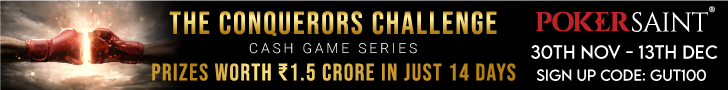 Poker Saint conquerors challenge