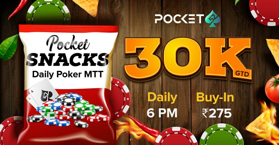 WIN Every Day With Pocket52's Pocket Snacks 30K GTD