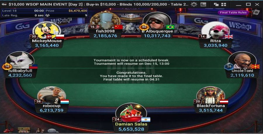 WSOP 2020: Play The Main Event On NATURAL8