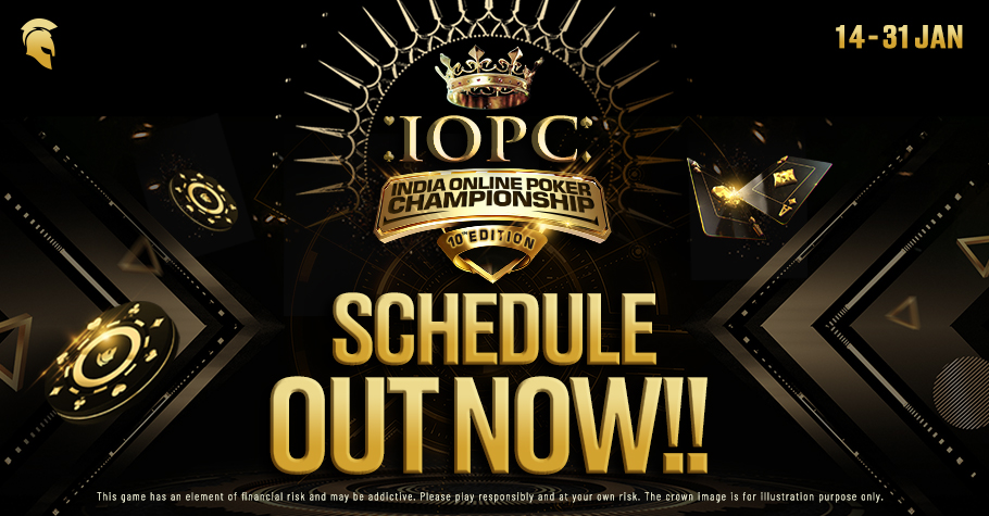 IOPC Schedule: HUGE GTD On Offer Just For You