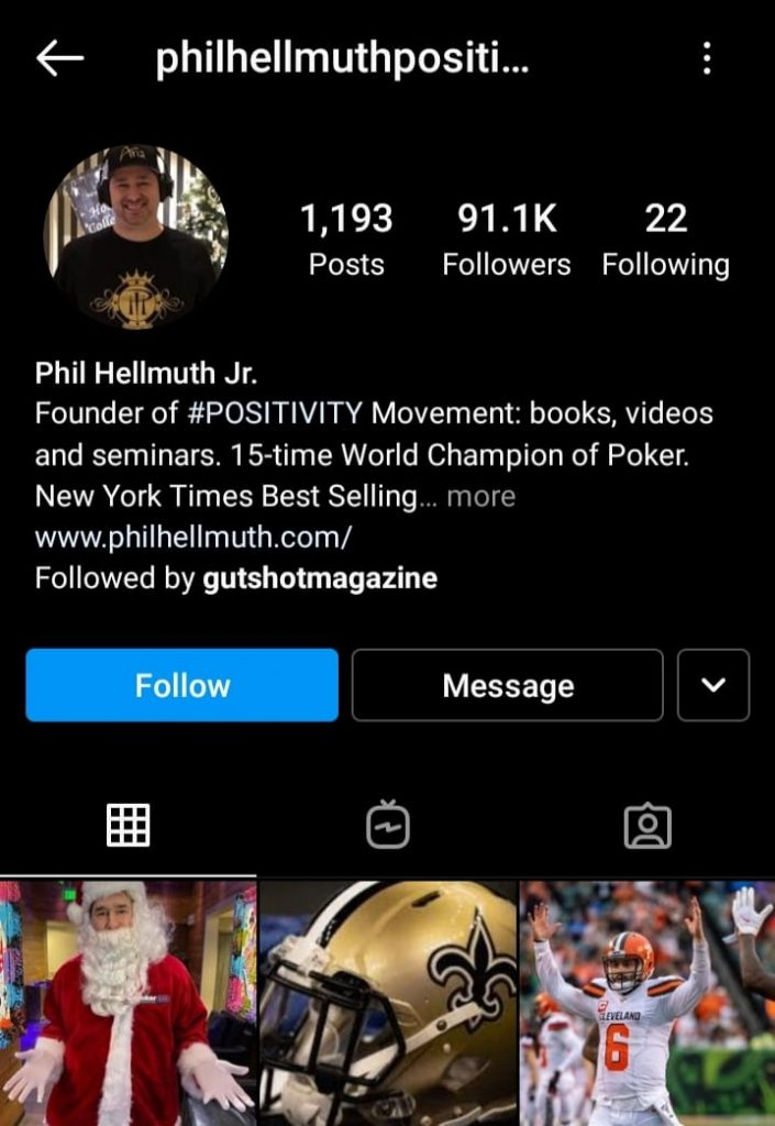 5 Poker Players To Follow On Instagram
