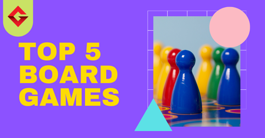 TOP 5 Board Games For Family Game Night