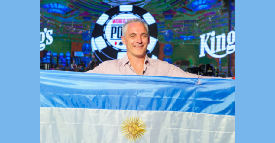 Damian Salas WINS International Leg Of WSOP