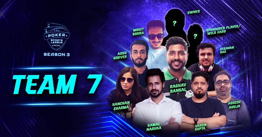 PSL Season 3 Virtual's Team 7 is raring to win the fierce battle