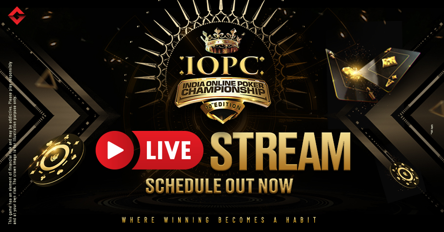 IOPC Livestream Schedule Is OUT NOW!