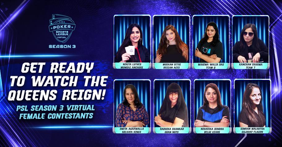 Celebrating Women In PSL Season 3 Virtual