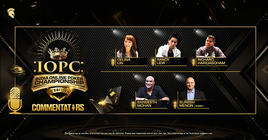 Randy Lew, Celina Lin Among Commentators For IOPC Livestream