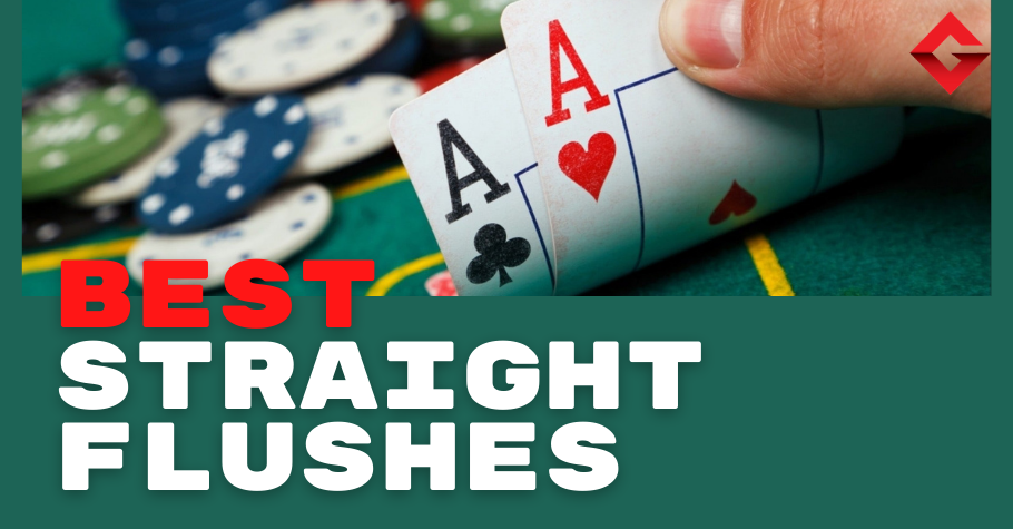 4 INCREDIBLE Straight Flushes In Poker
